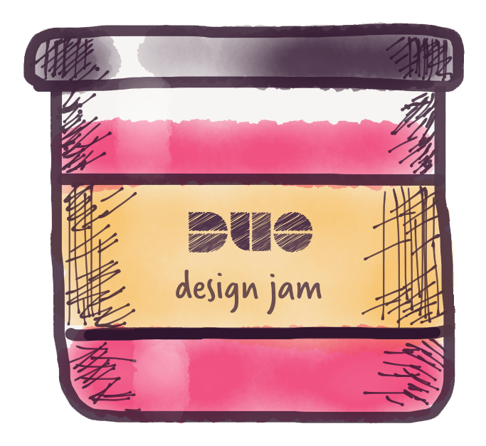 Design Jam sticker